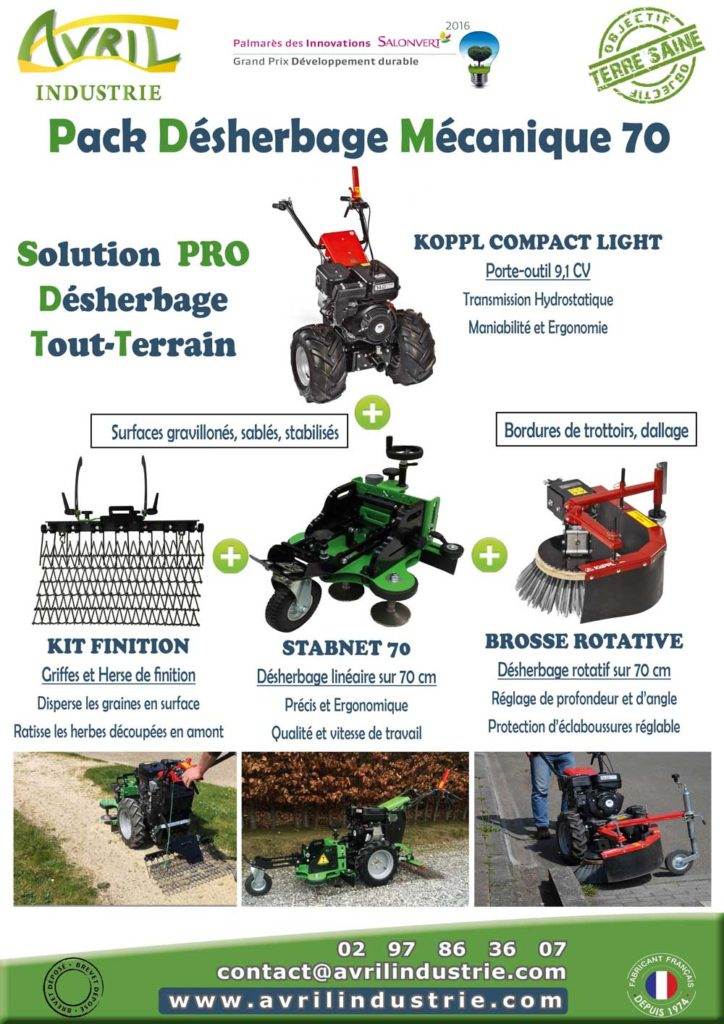 Flyer desherbage Avril 70 pack