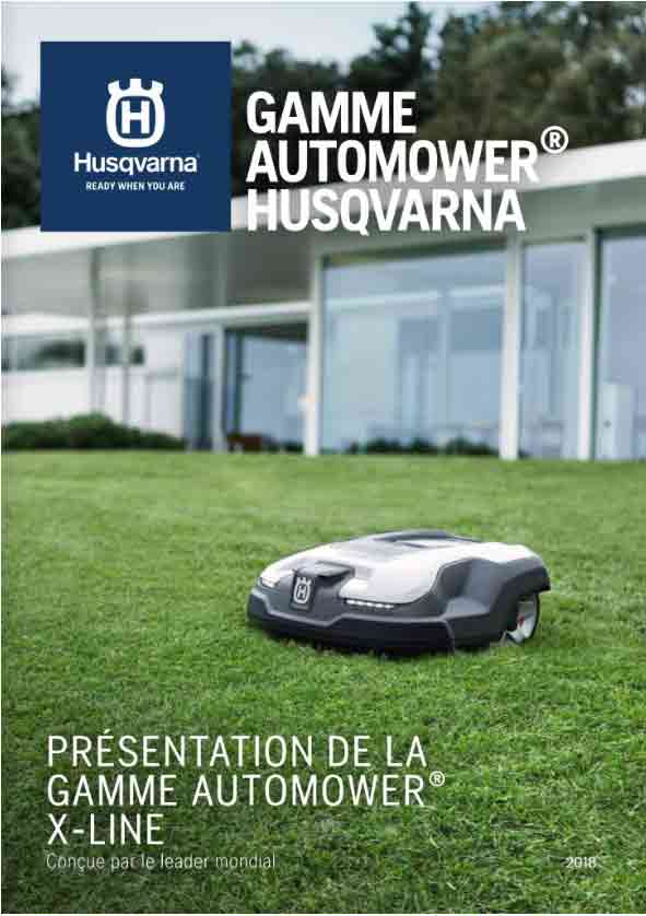 Gamme automower 2018