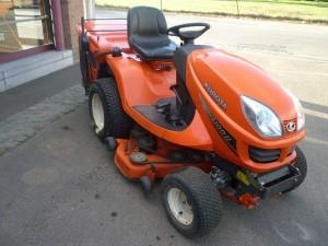 Le tracteur kubota : GR2100 – 3 cylindres – 125cm de coupe occasion